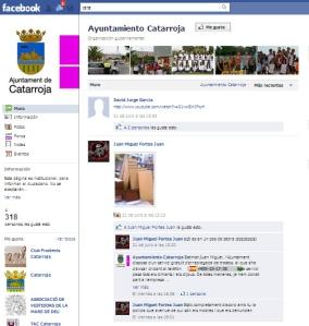 Facebook del Ayuntamiento de Catarroja