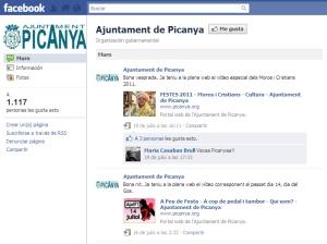 Facebook del Ayuntamiento de Picanya