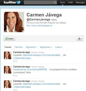 Carmen Jávega alcaldesa de Aldaia