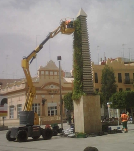 obelisco floral Alfafar