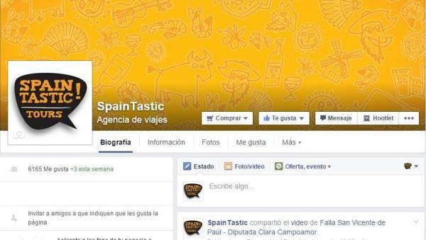 Facebook Spain Tastic!