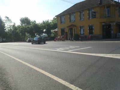 El Canimo de Santiago cruza una autovía